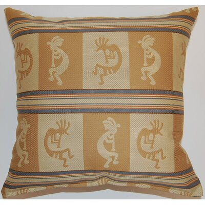 Kokopelli Throw Pillow