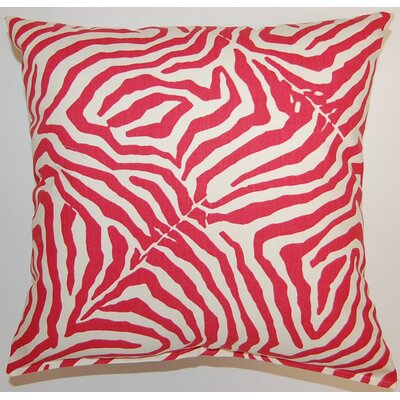 Wild Life Cotton Throw Pillow