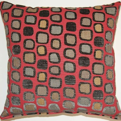 Peloton Throw Pillow Color: Red