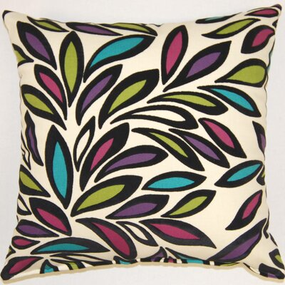 Alycia Galleria Throw Pillow Color: Jewel