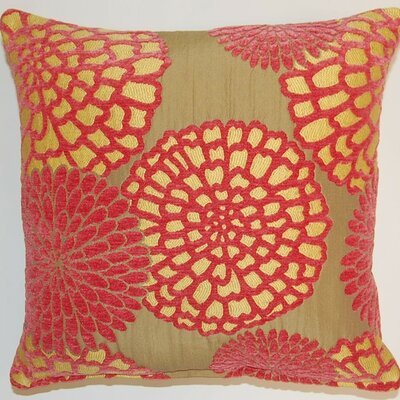 Adele Salmon Throw Pillow