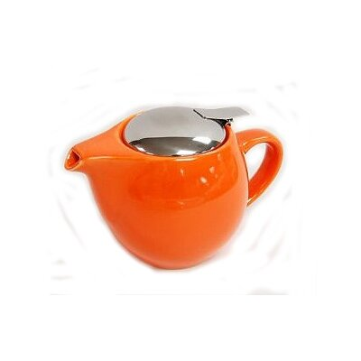 Creative Home 16oz Teapot with Infuser in Orange