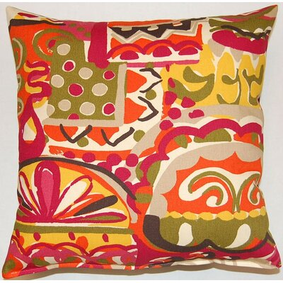 Coachella KE Throw Pillow