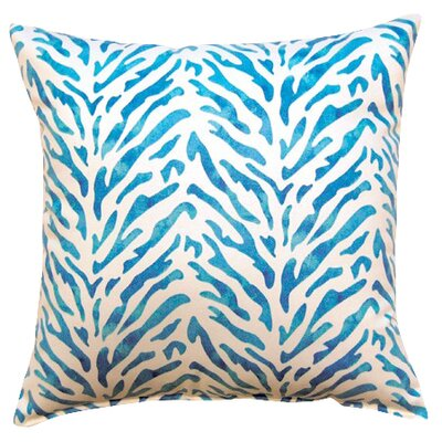 Reef Knife Edge Cotton Throw Pillow Color: Bliss