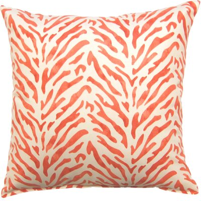 Reef Knife Edge Cotton Throw Pillow Color: Mimosa