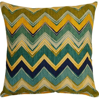 Clement Cotton Throw Pillow Color: Meadow