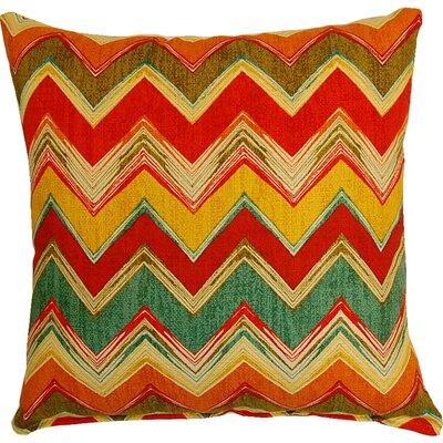 Clement Cotton Throw Pillow Color: Multi