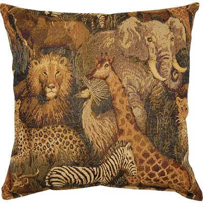 Senegal Jungle Throw Pillow