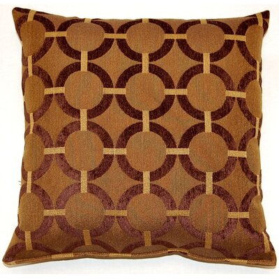Unbridled Throw Pillow Color: Brown