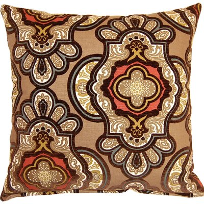 Vouvray Throw Pillow Color: Mink
