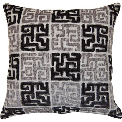 Zamora Throw Pillow Color: Black
