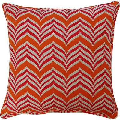Ripple Effect Throw Pillow Color: Tropic