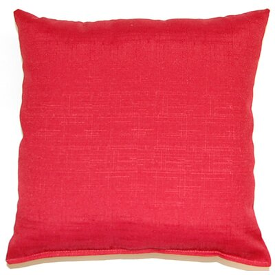 Davinci Throw Pillow Color: Cherry