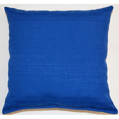 Davinci Throw Pillow Color: Cobalt