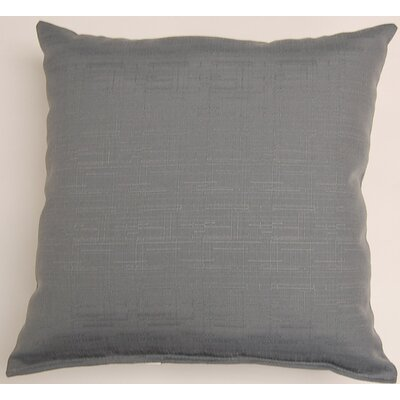 Davinci Throw Pillow Color: Sterling