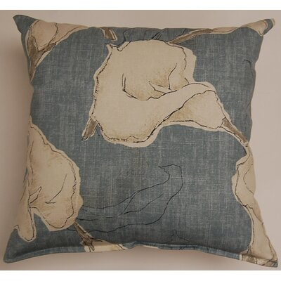 Calla KE 100% Cotton Throw Pillow