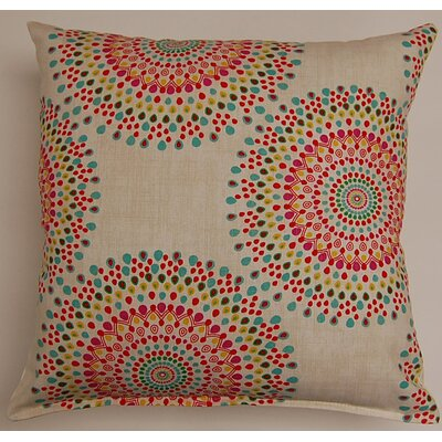 Carousel Throw Pillow Color: Festival