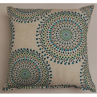 Carousel Throw Pillow Color: Ocean