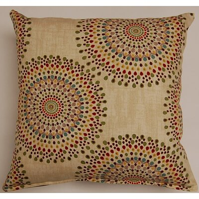 Carousel Throw Pillow Color: Tropic