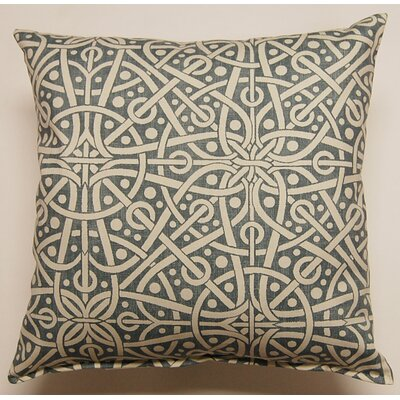 Galaxy KE 100% Cotton Throw Pillow Color: Sail