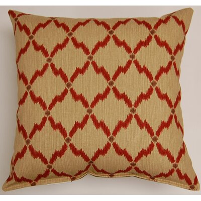 Kingston Throw Pillow Color: Santa Fe