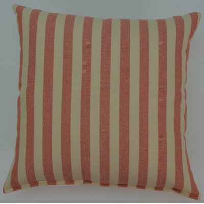 Nella KE Cotton Throw Pillow Color: Coral