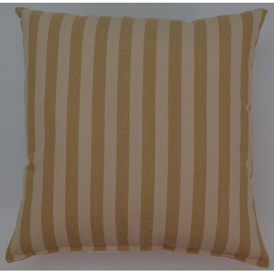 Nella KE Cotton Throw Pillow Color: Gold