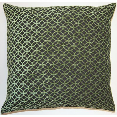 Revolution KE Throw Pillow Color: Green