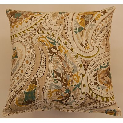 Cotton Throw Pillow Color: Shore