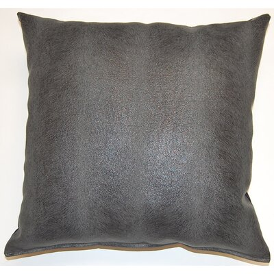 Palomino Throw Pillow Color: Anthracite