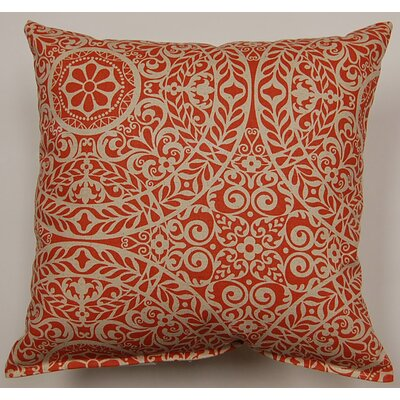 Tachenda Throw Pillow Color: Red