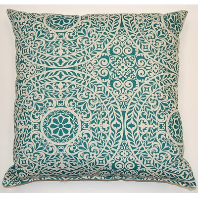Tachenda Throw Pillow Color: Blue