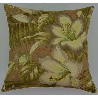 Seabotanical Throw Pillow