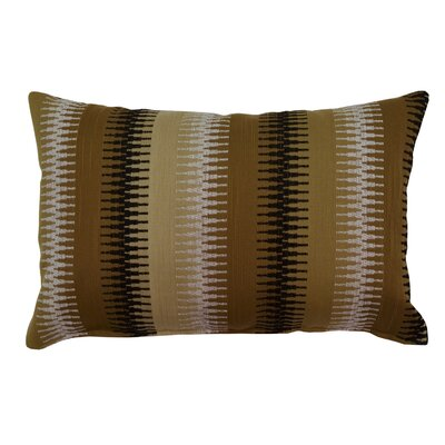 Ashanti Lumbar Pillow Color: Camel