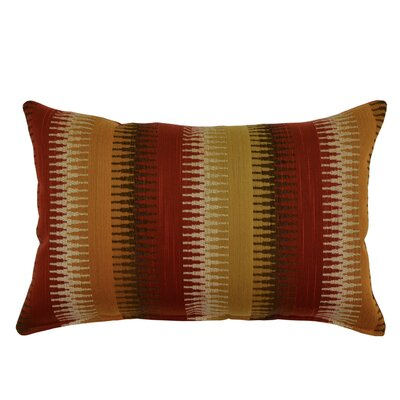 Ashanti Lumbar Pillow Color: Spice
