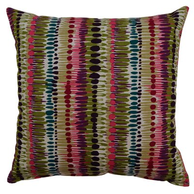 Brush Strokes Cotton Throw Pillow Color: Amethyst