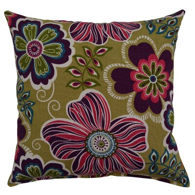 Joy Cotton Throw Pillow Color: Amethyst
