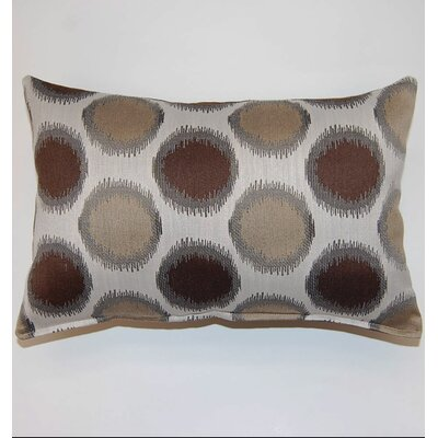 Girona Brown Throw Pillow