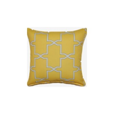 Emsworth Throw Pillow Color: Sunglow
