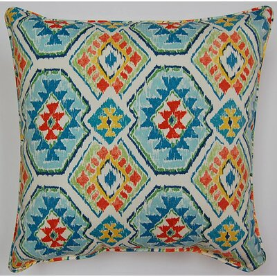 Eresha Throw Pillow Color: Bluebird
