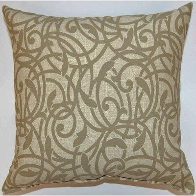 Olina Stone Cotton Throw Pillow