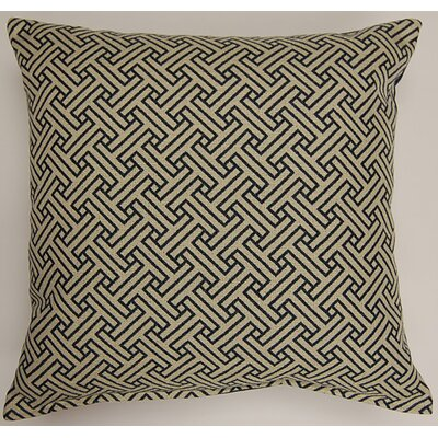 Stencil Oceanside Throw Pillow