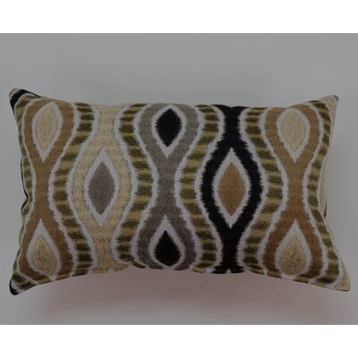 Lumbar Pillow Color: Black