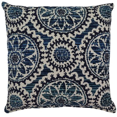Helix Throw Pillow Color: Baltic