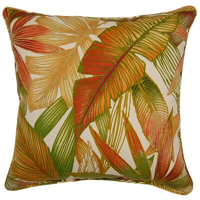 Cantrel Outdoor Throw Pillow Color: Sierra