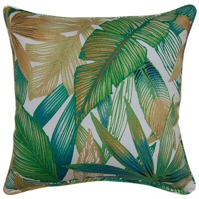 Cantrel Outdoor Throw Pillow Color: ChambrayGreen/Tan