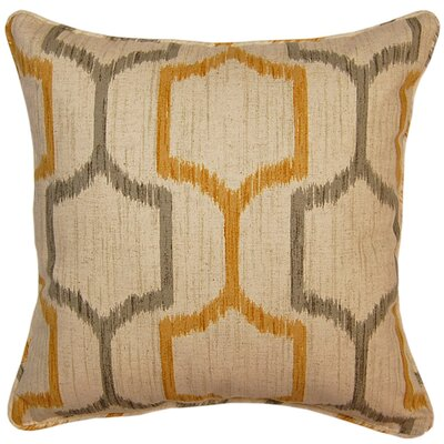 Skyview Throw Pillow Color: Graystone