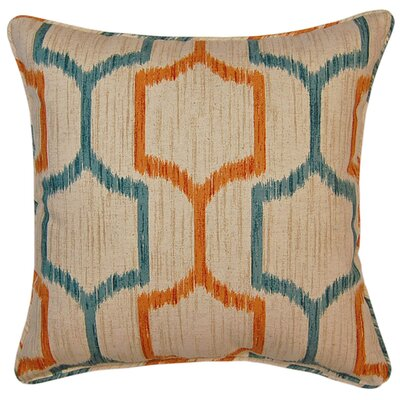 Skyview Throw Pillow Color: Tuscan