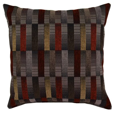 Ribicom Throw Pillow Color: Nickel