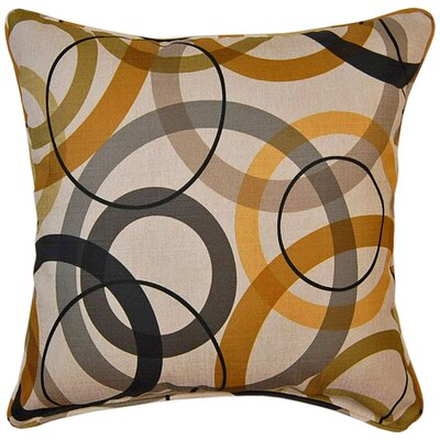 Pinwheel Lux Throw Pillow